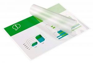 GBC Pochettes de plastification, format A3, brillant, 2x125 microns, lot de 100 de la marque GBC image 0 produit