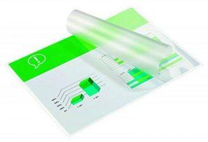 GBC Pochettes de Plastification, Format A4, Brillant, 2x250 Microns, Lot de 100 de la marque GBC image 0 produit