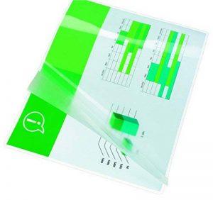 GBC Pochettes de plastification, format A6, brillant, 2x125 microns, lot de 100 de la marque GBC image 0 produit