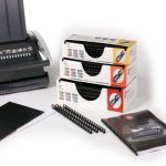 GBC Procomb Pack de 100 Reliures spirale plastique 10 mm Noir de la marque GBC image 2 produit