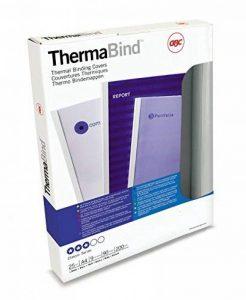GBC ThermaBind Pack de 25 Reliures spirale plastique thermique Standard 3 mm Blanc de la marque GBC image 0 produit