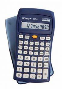Genie 52 SC Calculatrice scientifique/affichage 10 chiffres/avec couvercle de protection/blue de la marque Genie image 0 produit