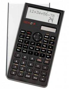 Genie 82 SC Calculatrice scientifique affichage 10 chiffres 2 lignes avec couvercle de protection Noir de la marque Genie image 0 produit