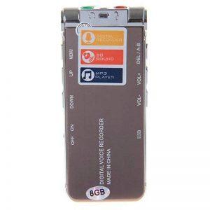 GH609 professionnel 8Go téléphonie LCD numérique enregistreur téléphonique Audio enregistreur enregistrement dispositif-Brun de la marque DIGITALS image 0 produit