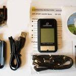GP de 101(Noir) Multi Talent GPS Tracker, la position de Sport Ordinateur de vélo Finder, GPS Enregistreur de données 200000, GPS POI Marqueur, hauteur tableau d'affichage, tableau d'affichage, Tagger photo digitalkompass, GPS, récepteur GPS USB Calorie image 3 produit