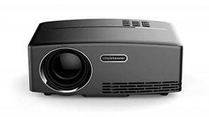 GP80 HD 1080P Projecteur 3D Portable Movie Machine, Peut Insérer Disque U, Disque Dur Mobile, avec Ligne VGA Ou HDMI Ligne Même Ordinateur, Triple Ligne AV Même Set-Top Box, DVD Et Autres Équipements de la marque Libina image 0 produit