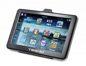 GPS Auto TEENO GPS Voiture Rechargeable avec Support Écran Tactile 5 Pouces Système de Navigation Stockage Bluffant Carte SD Multi-Langues de la marque TEENO image 0 produit