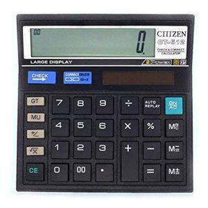 Grande calculatrice de bureau -> faites une affaire TOP 8 image 0 produit