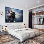 Grande décoration murale encadrée Impression sur toile–moderne–HD de qualité photo–Garantie à 100%–Film Vidéoprojecteur Moulinet–Salon et chambre à coucher Home Dãcor avec guide facile à suspendre–Ab27290cm x 60cm–Woyw de la marque WOYW image 1 produit
