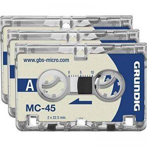 Grundig ggm4500Dictaphones–Accessoires Micro et laser MC45Lot de 3 de la marque Grundig image 0 produit