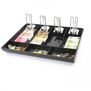 Guanhe Caisse enregistreuse Boîte NEUF de classer Store Caissier Boîte de rangement pour pièces de monnaie Plateau tiroir Caisse de la marque GUANHE image 0 produit