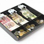 GUANHE Casella du Enregistreur de caisse nouveau magasin classer monnaie pour caissières tiroir tiroir porte billets (3compartiments) de la marque GUANHE image 4 produit