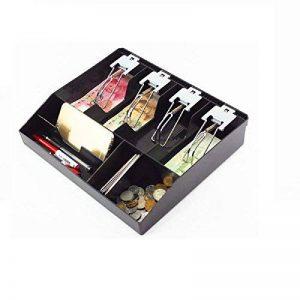 GUANHE nouvelle Casella pour enregistreur de caisse nouveau magasin de classification Cashier jeton tiroir caisse tiroir pour tiroir 31.8x 27,5x 6cm (Clip en métal) de la marque GUANHE image 0 produit