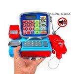 gugutogo Calculatrice de Caisse enregistreuse électrique pour Enfants Jouets Jouet de Simulation d'apprentissage pour caissière (Couleur: Multicolore) de la marque gugutogo image 1 produit