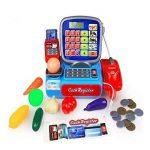 gugutogo Calculatrice de Caisse enregistreuse électrique pour Enfants Jouets Jouet de Simulation d'apprentissage pour caissière (Couleur: Multicolore) de la marque gugutogo image 4 produit
