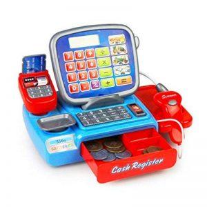 gugutogo Calculatrice de Caisse enregistreuse électrique pour Enfants Jouets Jouet de Simulation d'apprentissage pour caissière (Couleur: Multicolore) de la marque gugutogo image 0 produit