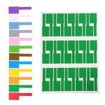 Gydandir 24 feuilles Etiquettes auto-adhésives pour étiquettes Etiquettes adhésives résistantes à la déchirure Etiquettes adhésives Etiquettes adhésives disponibles pour imprimante laser 720 pièces au total, 12 couleurs de la marque Gydandir image 2 produit
