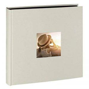 Hama Album Photo Jumbo Fine Art, 30x30cm, 100Pages Noires, Ardoise de la marque Hama image 0 produit