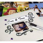 Hama Album Photo Jumbo Fine Art, 30x30cm, 100Pages Noires, Ardoise de la marque Hama image 4 produit