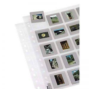 Hama Pochettes pour 20 diapositives encadrées de format 5x5 cm, 25 pièces de la marque Hama image 0 produit