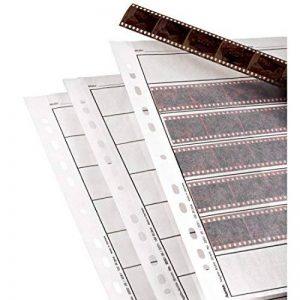 Hama Étuis à négatifs, papier cristal, 7 bandes de 6 néga, 24x36cm, 100p. de la marque Hama image 0 produit