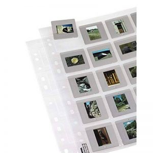Hama Étuis pour 20 diapositives avec cadre au format 5 x 5 cm, 12 pièces de la marque Hama image 0 produit