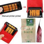 Hanbaili Outil de codage manuel manuel Codage Date Machine d'impression numérique A5 de la marque Hanbaili image 1 produit
