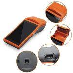 Handheld Bluetooth sans fil thermique imprimante de reçus écran tactile USB SIM casque Android Wifi GPRS Moblile POS terminal Système de la marque anancooler image 3 produit