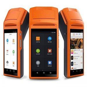Handheld Bluetooth sans fil thermique imprimante de reçus écran tactile USB SIM casque Android Wifi GPRS Moblile POS terminal Système de la marque anancooler image 0 produit