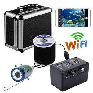 HD Wifi sans fil 30M sous-marine appareil photo de pêche vidéo enregistreur pour IOS Android APP prend en charge la vidéo Record et prendre une photo, avec 1000TVL caméra de la marque FFANDESHIJIE image 0 produit