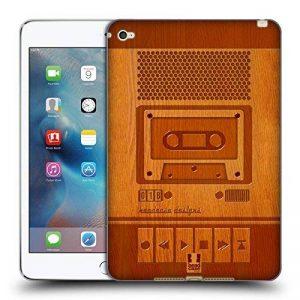 Head Case Designs Magnétophone Gadget en Bois Étui Coque en Gel Molle pour Apple iPad Mini 4 de la marque Head Case Designs image 0 produit