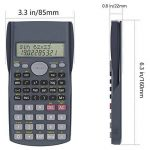 Helect 2 Lignes Calculatrice Scientifique de la marque Helect image 1 produit