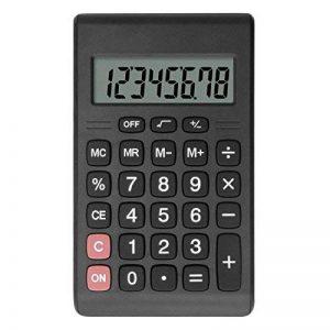Helect Calculatrice Design Compact Fonction Standard, Poche Portable, Noir de la marque Helect image 0 produit