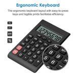 Helect Calculatrice Design Compact Fonction Standard, Poche Portable, Noir de la marque Helect image 3 produit