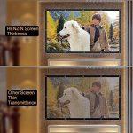 HENZIN Écran de Projection 100 Pouces 16:9 HD 4K Portable et Pliable pour cinéma Maison, en intérieur ou en extérieur, Frontale ou par Transparence,224.5×131cm de la marque HENZIN image 4 produit