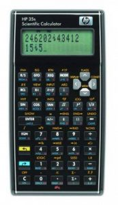 Hewlett-Packard F2215AA HP35s Calculatrice scientifique Noir de la marque HP image 0 produit