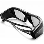 """Hi-SHOCK® RF Pro """"Black Diamond""""   Lunettes 3D pour projecteurs JVC®, SONY®, EPSON®   entièrement compatibles avec JVC PK-AG3 & PK-EM2 3D Syncro Emitter / SONY TDGBT500A & TMR-RF1 émetteur / XPAND X105-RF-X1 & AD025-RF-X1 / EPSON ELPGS03 / Hi-SHOCK ® RF P image 3 produit"""