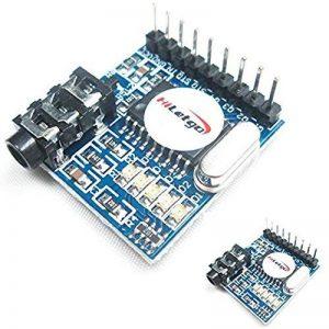 Hiletgo 2pcs Mt8870Dtmf module décodeur de voix Voice Telephone Module décodeur Audio numérotation vocale module de commande pour Arduino, Raspberry Pi, Bras MCU et bien plus encore de la marque HiLetgo image 0 produit