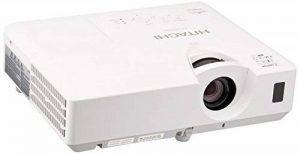 """Hitachi CP-EW302N Projecteur de bureau 3000ANSI lumens 3LCD WXGA (1280x800) Blanc vidéo-projecteur - Vidéo-projecteurs (3000 ANSI lumens, 3LCD, WXGA (1280x800), 2000:1, 4:3, 762 - 7620 mm (30 - 300"""")) de la marque Hitachi image 0 produit"""