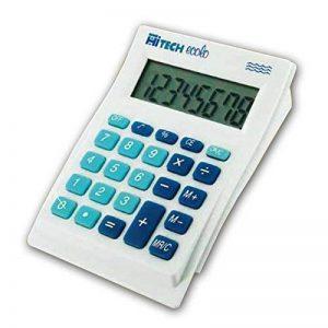 Hitech C1513BL Calculatrice de Poche 8 chiffres blanc de la marque Hitech image 0 produit