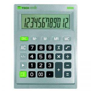 Hitech C1516BL Calculatrice de Bureau 12 chiffres Gris de la marque Hitech image 0 produit