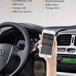 HJJH Scanner Diagnostique OBD2 D'appareil De Contrôle De Véhicule De WiFi, Lecteur De Code De Défaut, Outil De Diagnostic De Véhicule Compatible avec iOS, Android Et Windows de la marque HJJH image 4 produit