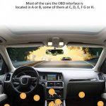 HJJH Scanner Diagnostique OBD2 D'appareil De Contrôle De Véhicule De WiFi, Lecteur De Code De Défaut, Outil De Diagnostic De Véhicule Compatible avec iOS, Android Et Windows de la marque HJJH image 3 produit