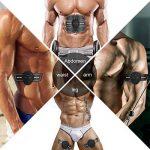 Hommie EMS Ceinture de Musculation Abdominale par d'Electrostimulation pour l'Entraînement d'Abdomen/Bras/Jambe, Equipement d'Entraînement de Bureau à la Maison pour Hommes et Femmes de la marque Hommie image 3 produit