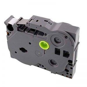 Hongfei Imprimer contact étiquette Ruban eau Graisse Abrasion Résistent fading Compatible 12mmx 8m pour Brother P-touch TZ-231-231 TZe de la marque Tiptiper image 0 produit