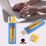 Hongfei Stockage de disque d'U de forme plus légère avec la caméra, caméscope d'enregistreur vidéo portatif pour le travail de bureau ect de la marque Cewaal image 4 produit