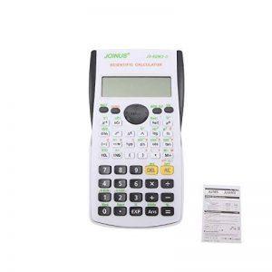 HONGYUANZHANG 12 Calculatrice Scientifique Électronique Numérique 240 Calculatrice Multifonction Affichage Lcd 2 Lignes Pour École, Université Et Entreprise (15,3 × 7,8 × 1,3 Cm), Noir de la marque HONGYUANZHANG image 0 produit