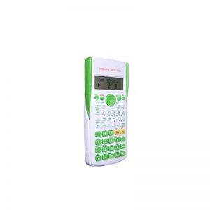 HONGYUANZHANG 12 Calculatrice Scientifique Numérique Affichage De La Fonction De L'Élève De L'École À 2 Lignes Calculatrice Multifonction Compteur (15.7X8.4X1.7Cm), Vert de la marque HONGYUANZHANG image 0 produit