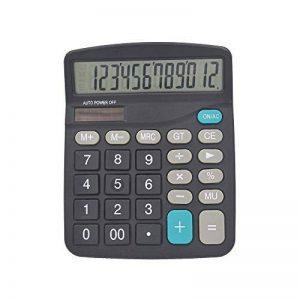 HONGYUANZHANG Calculatrice Scientifique De Bureau Financier Calculatrice Grand Écran À Double Énergie Solaire Pour Réunion Fiscale (14,8 * 11 * 3,5 Cm) de la marque HONGYUANZHANG image 0 produit