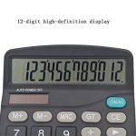 HONGYUANZHANG Calculatrice Scientifique De Bureau Financier Calculatrice Grand Écran À Double Énergie Solaire Pour Réunion Fiscale (14,8 * 11 * 3,5 Cm) de la marque HONGYUANZHANG image 3 produit